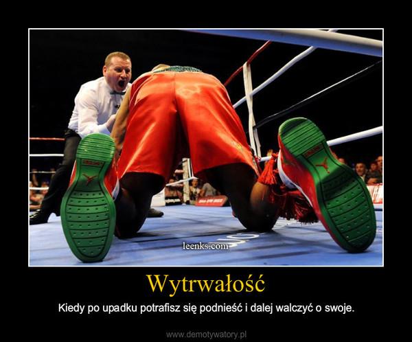 Wytrwali.pl - 10 najlepszych obrazków o wytrwałości, miejsce 3